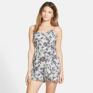 Zoe & Rose | scalloped floral romper